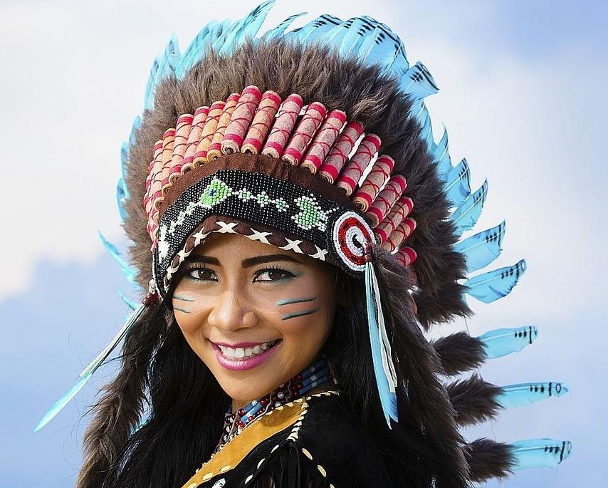 Cheyenne-Indianerin