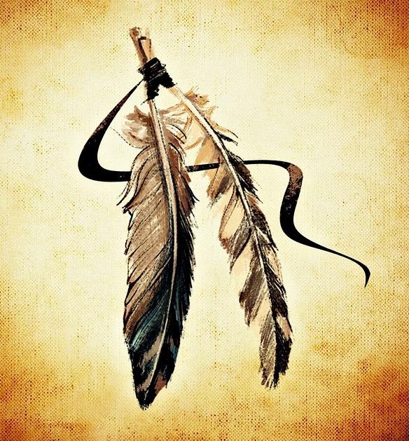 Indianerfeder