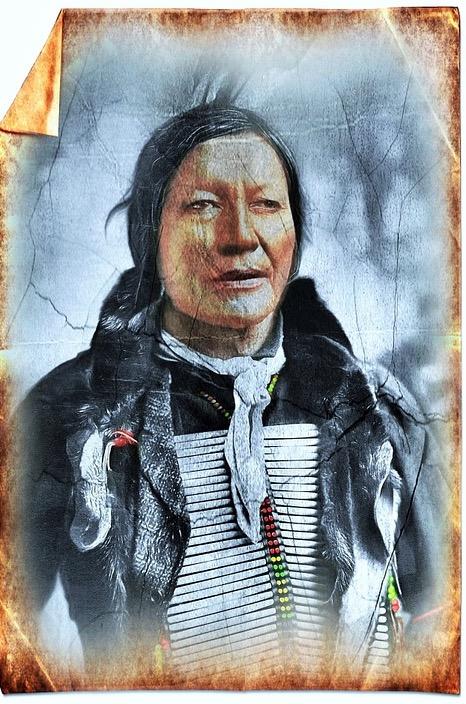 Kiowa-Indianer