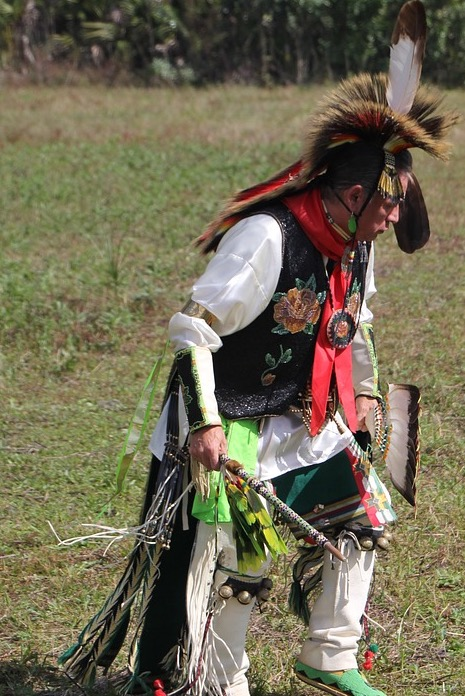 Traditionelles-Indianerspiel