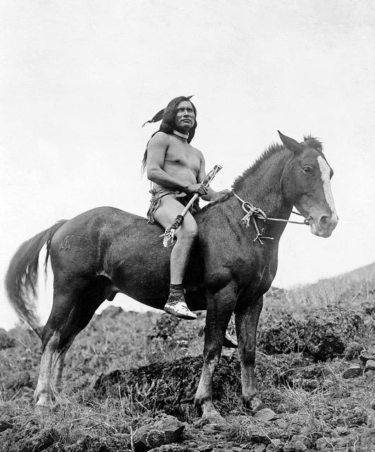 Vertriebener-Indianer